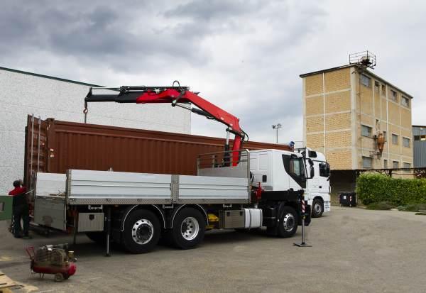 Servizio Gru con Camion